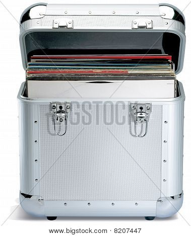 Silver Records Lp Dj Box