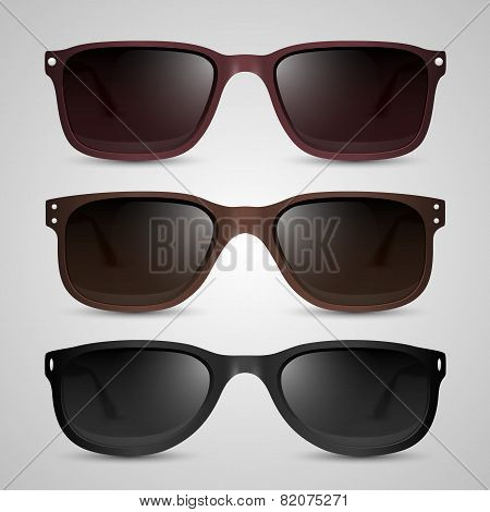 Sunglasses. Vector