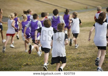 Two Teams of Cross Country Runners