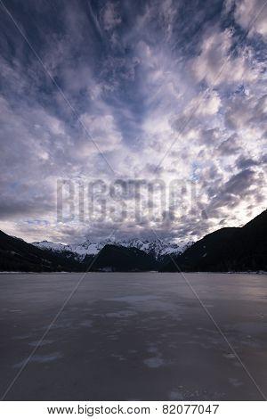 Jones Lake Freeze