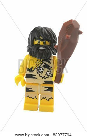 Caveman Lego Minifigure