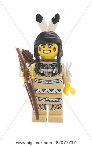 Tribal Hunter Lego Minifigure