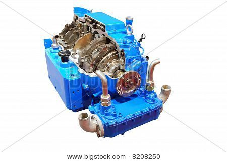 truck automatic transmission front view