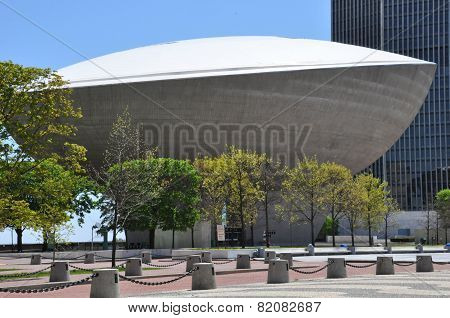 The Egg, a performing arts venue in Albany, New York