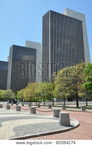 Empire State Plaza in Albany, New York
