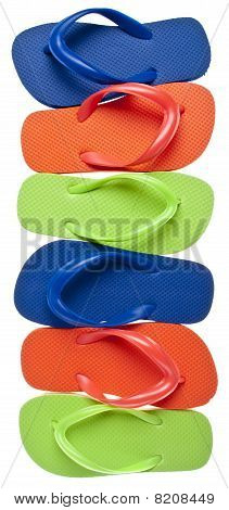 Summer Flip Flop Sandal Background