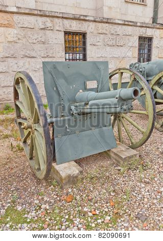 French 75 Mm Field Gun Model 1912