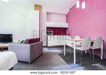 Small Studio House Interior