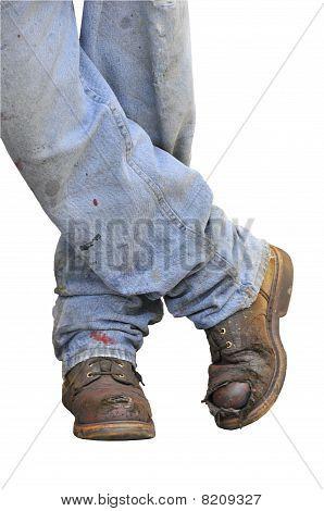 Worker Standing