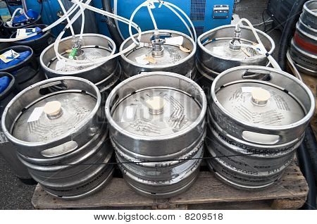 Barrels Of Beer