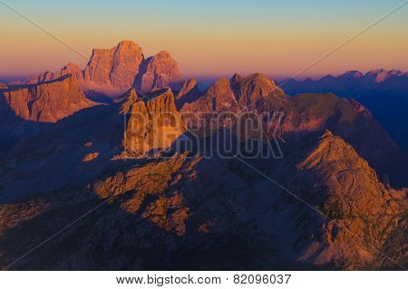 Dolomites Sunset - amazing view