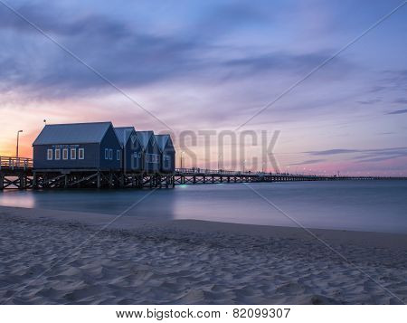 Busselton Jetty at Sunset, Western Australia
