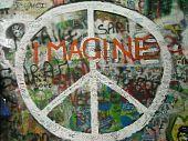 Постер, плакат: Джон Леннон стены