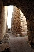 stock photo of crusader  - Inside the ancient crusader fortress at Byblos - JPG
