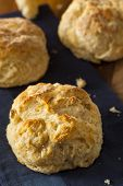 picture of buttermilk  - Homemade Flakey Buttermilk Biscuits Ready to Eat - JPG