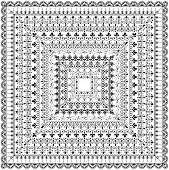 picture of modifier  - Set of repeating borders - JPG