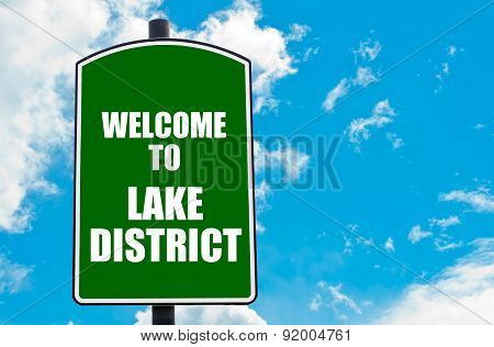 Welcome To Lake District