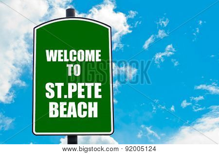 Welcome To St.pete Beach