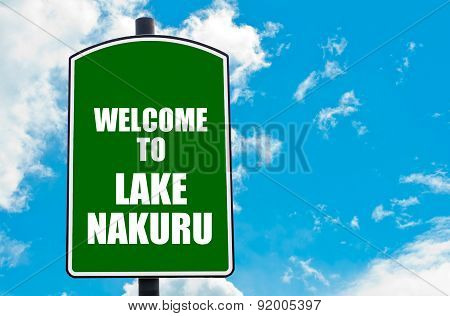 Welcome To Lake Nakuru