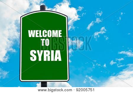 Welcome To Syria