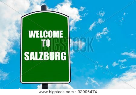 Welcome To Salzburg