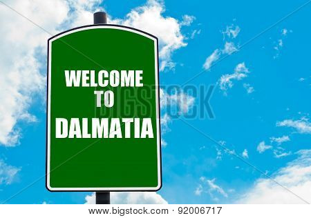 Welcome To Dalmatia