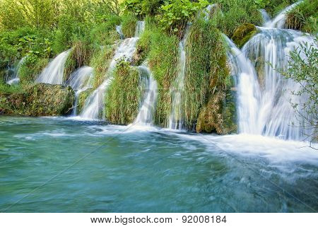 Small waterfall in Croatia