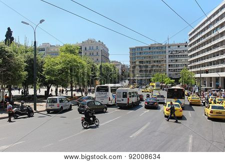Traffic Athens