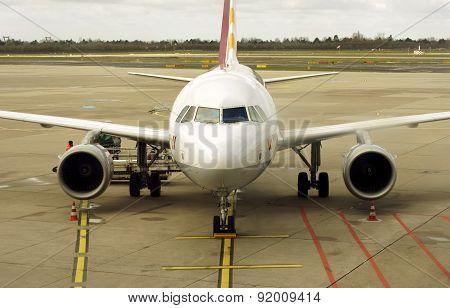 Airliner from Germanwings