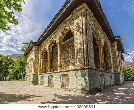 Saadabad Palace Exterior west