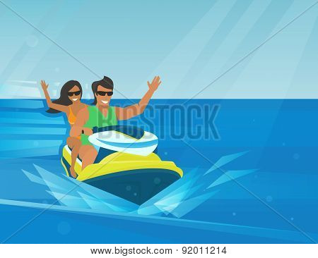 Extreme watercraft