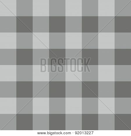 Tile grey plaid vector pattern or background wallpaper