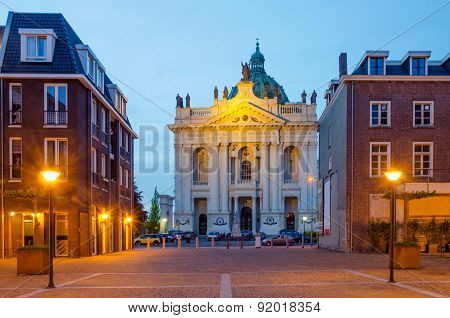 Basilica Of Saints Agatha And Barbara In Oudenbosch