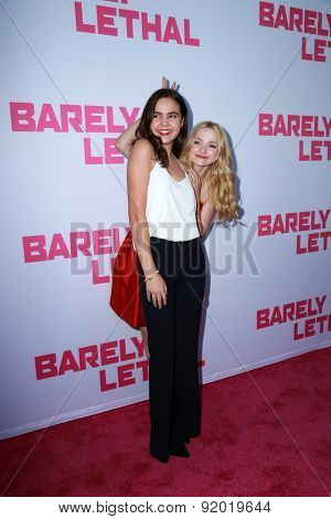 LOS ANGELES - MAY 27:  Bailee Madison, Dove Cameron at the