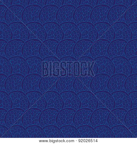 Vector abstract blue natural texture seamless background