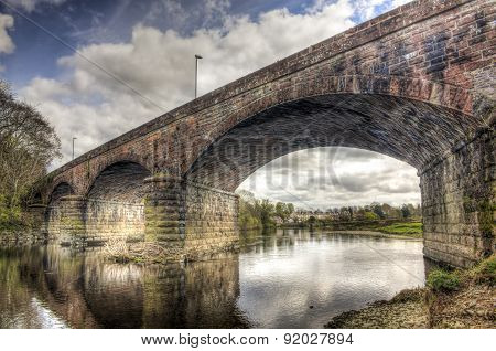 Looking Through Nith Viaduct Hdr