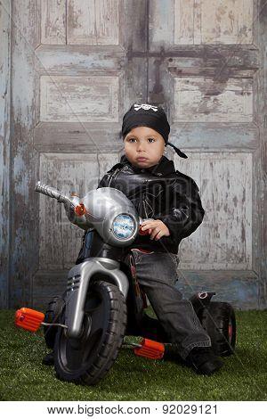 Tough Li'l Biker