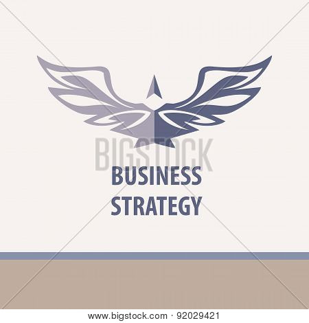 Business strategy, vector illustration.