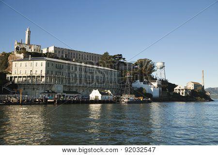 Alcatraz Penitentiary Building