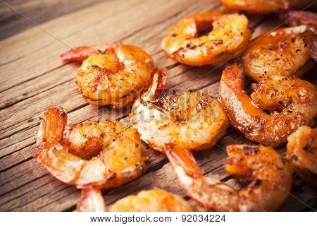 Shrimps Fried