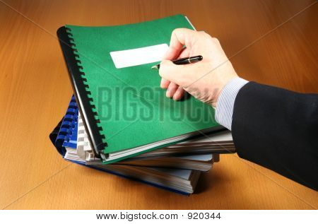 Signing The Final Report