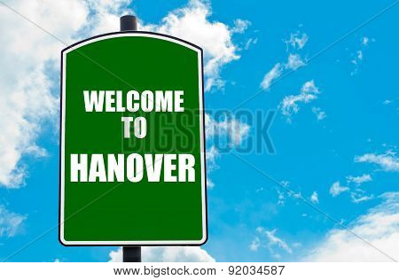 Welcome To Hanover