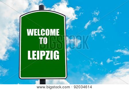 Welcome To Leipzig