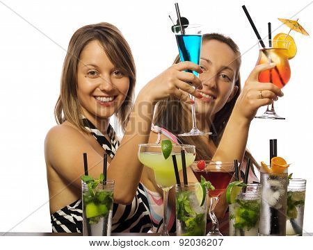Girls With Cocktails