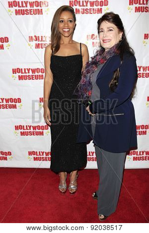 LOS ANGELES - MAY 27: Chrystee Pharris, Donelle Dadigan at the Marilyn Monroe Missing Moments preview at the Hollywood Museum on May 27, 2015 in Los Angeles, California