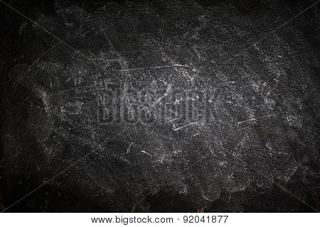 Black Background With Vignetting, Horizontal. Border Frame On White Gray Background With Dirty Grung