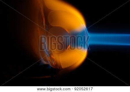Melting Glass