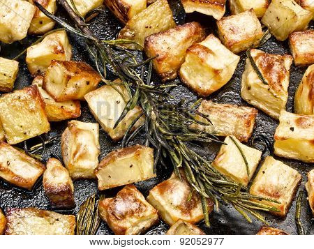 Rustic Rosemary Roasted Potato
