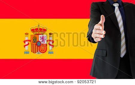 Handshake In Spain