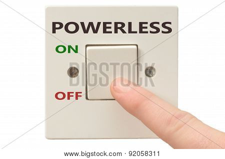 Dealing With Powerless, Turn It Off